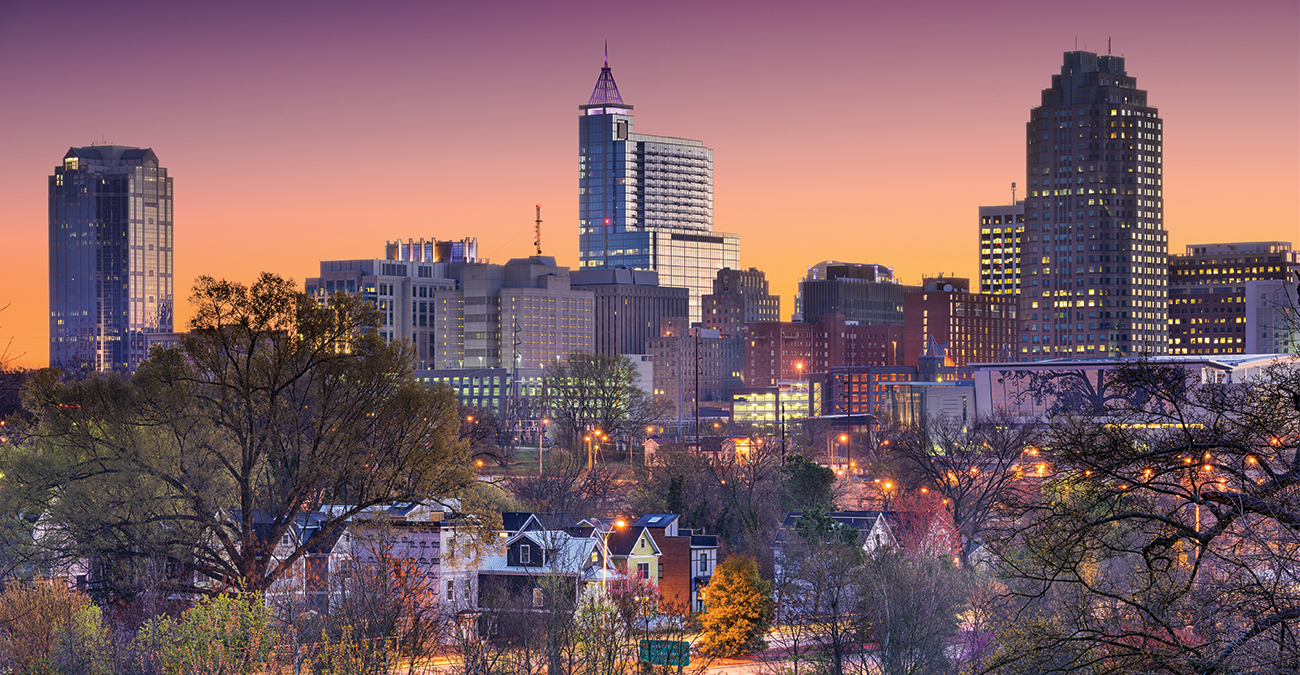 Raleigh, NC Skiyline - Why We Love Raleigh, NC - Morris Marketing